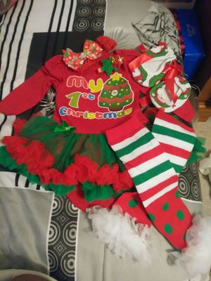 Baby first Xmas sizes S