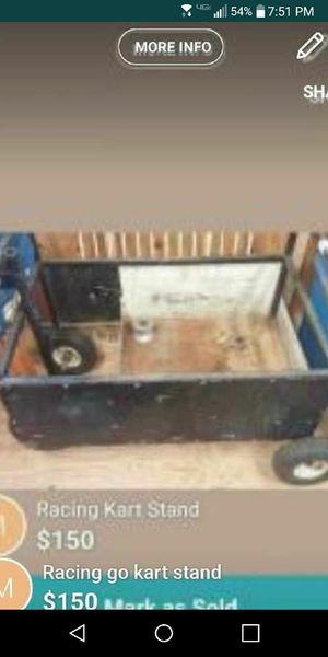 Racing kart stand