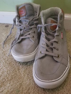 Levis Grey Shoes Size 5