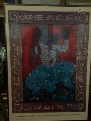 Peace Paix Painting