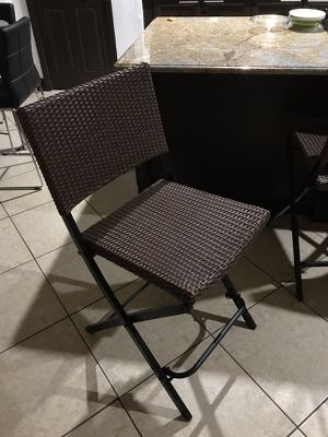 Barstool set of 3