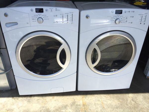 Ge Washer And Dryer Set Electric I Can Deliver Appliances