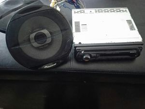 Sony Bluetooth Radio and speakers