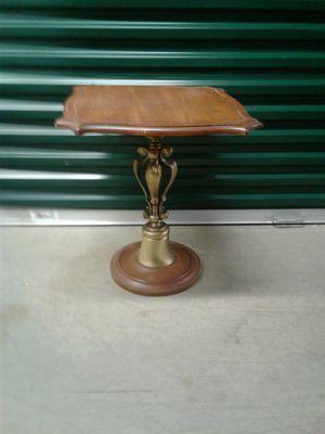 Antique wooden end table