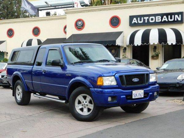 2004 ford ranger edge 4dr supercab truck (cars & trucks) in san