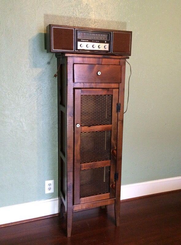 Wood cabinet/magnavox am/fm stereo (Furniture) in Dallas ...