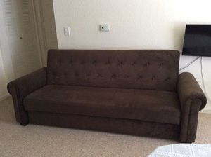 Almost new Brown sofa bed