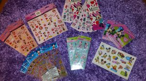 Minnie Mouse Sticker Lot