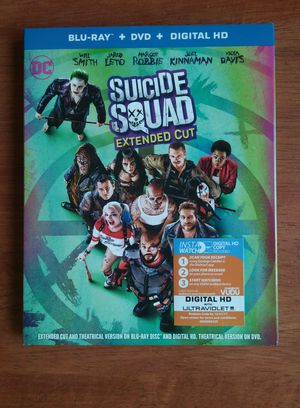 Suicide Squad Bly-ray + DVD + Digital HD