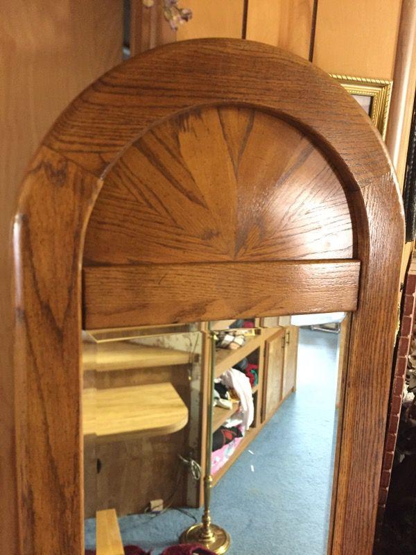 Nice mirror drawer nightstand h 74 22 x 16 5 for Furniture auburn wa