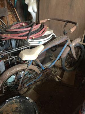 Antique kids bike