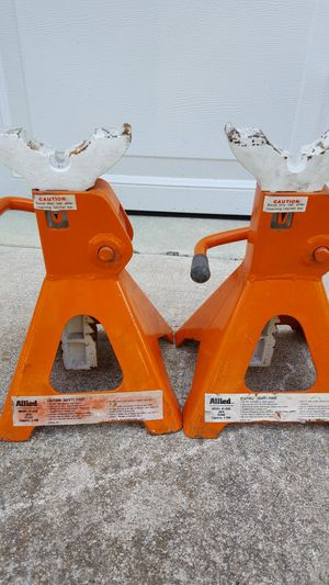 Allied 3 ton jacks stands