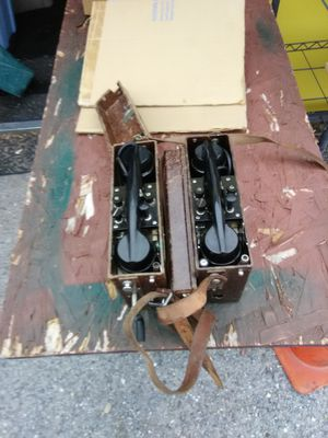 German Military Field Telephone Set