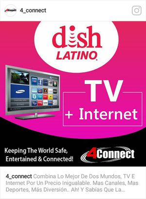 CABLE TV, INTERNET, CAMARAS , ALARM AND CELL PHONE SERVICES. FREE✔ INSTALLATION✔ AND ACTIVATION.✔