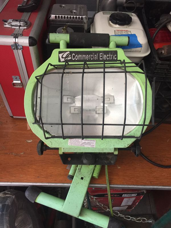 Commercial electric work light tools machinery in temecula ca commercial electric work light mozeypictures Gallery