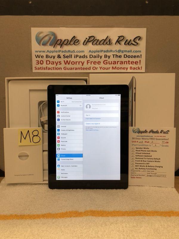 M8 - iPad 2 32GB