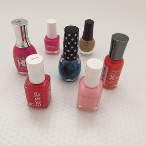 Set of 7 Nail Polish
