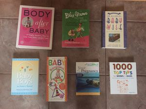 Pregnancy/baby info books