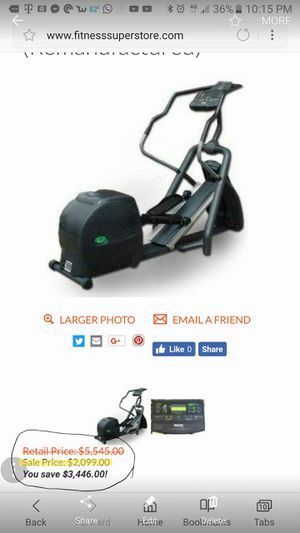 Precor EFX 546 v1 Elliptical Cross-Trainer