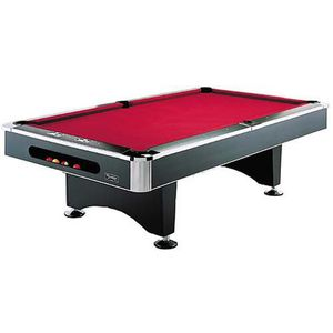Berner Billards 8ft Black Spider Pool Table