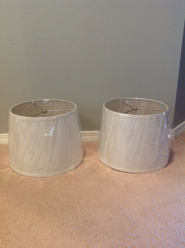 2 Lamp Shades Household In Lynnwood Wa Offerup