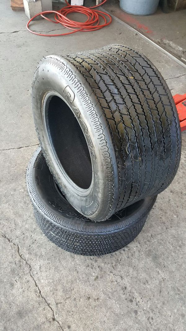 295 50 15 New American Racer Track Tires Auto Parts