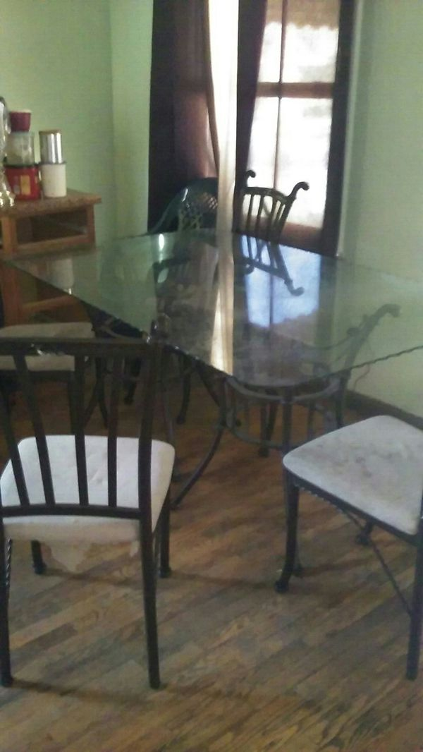 King Glass Dining Room Table Furniture In Detroit MI