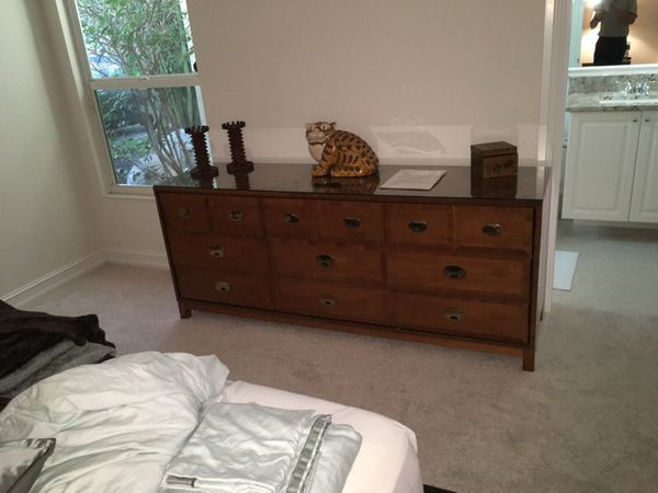 Bedroom set - Hickory Yew Wood (Furniture) in Palm Beach Gardens, FL ...