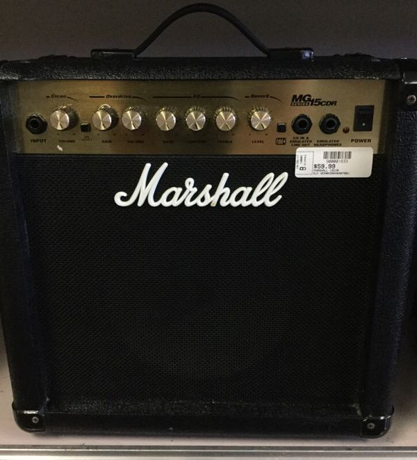 Marshall MG Series 15CDR Guitar Amp