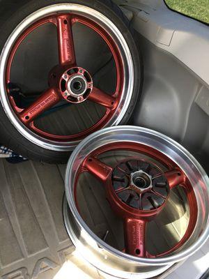 Haybusa wheels