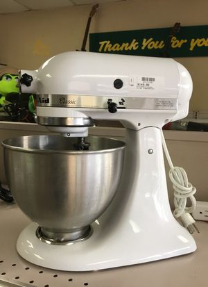 KitchenAid 250watts White Stand Mixer