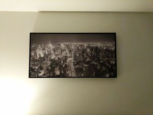 Portrait of New York skyline