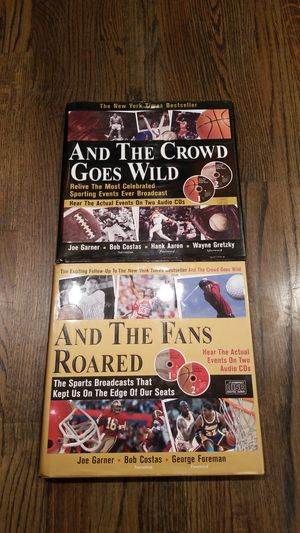 And the Crowd Goes Wild, And the Fans Roared 2 book collection