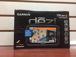 Garmin Dezi gps in box