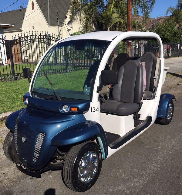 2001 GEM E825 Electric Vehicle NEV 72V 4 Seater Golf Cart