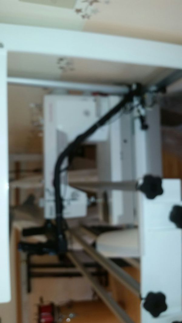 Pfaff Grand quilter hobby 1200 longarm with Inspira quilting frame ... : inspira quilting frame - Adamdwight.com
