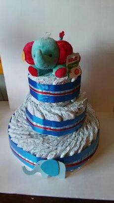Elephant diaper cake Baby Kids in South San Francisco CA