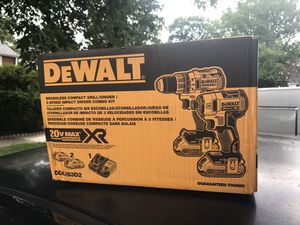Dewalt Combo XR 20v brushless new never used