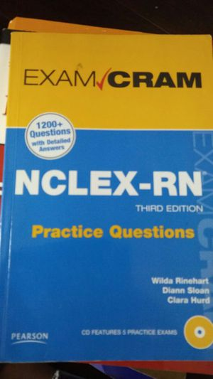 NCLEX-RN practice questions book