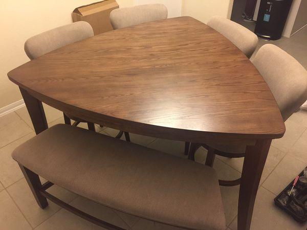 Ashley furniture mardinny dining room table set furniture for Dining room tables houston tx