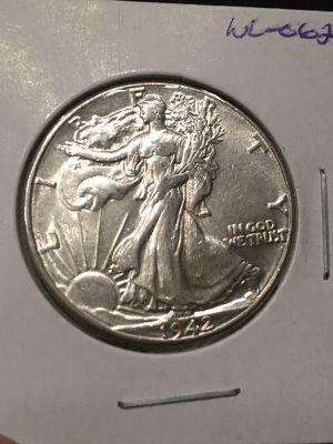 1942 walking liberty half dollar- great detail