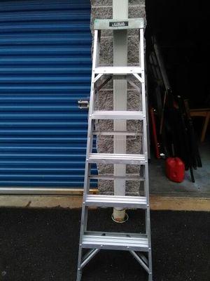 6 foot a frame ladder aluminium 20