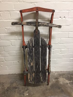 Vintage Flexible flyer sled