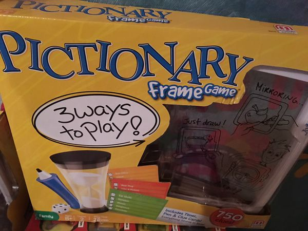 Pictionary frame game (Games & Toys) in Clermont, FL