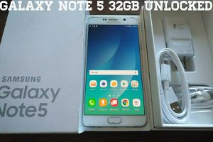 Galaxy Note 5 32GB UNLOCKED (Like New) White
