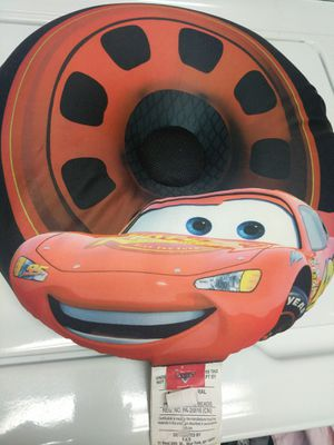 Disney Pixar CARS Radio Speaker Pillow $12