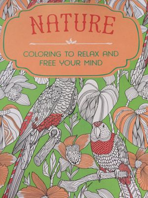 Nature Adult Coloring Book