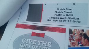 Florida Classic Tickets Bcc vs Famu