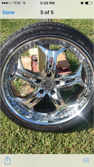 20 inch chrome rims