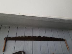 Antique Wood Saw